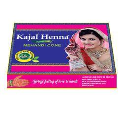 Kajal Henna Mehandi Cone Red Wrapper