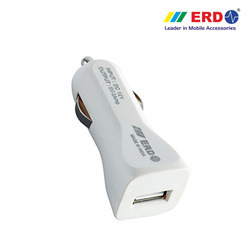 CC 27 USB Dock White Car Charger