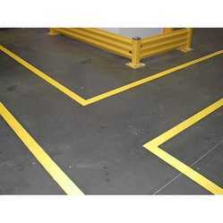 floor marking paint yellow