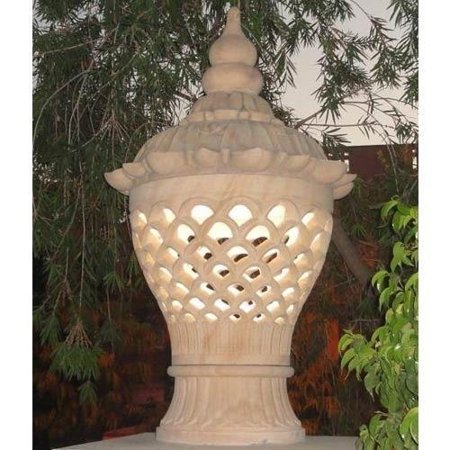 Stone Lamp Posts Gardens Sand Stone Lamp Post