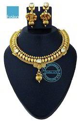 Royal Antique Kundan Necklace Sets