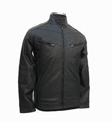 Gents Faux Leather Jacket