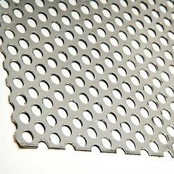 Stainless Steel Round Hole Perforated Sheet