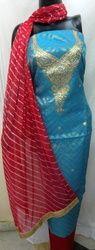 Blue Gota Patti Suit