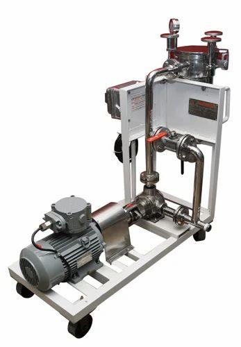 Single Pot Filter Machine