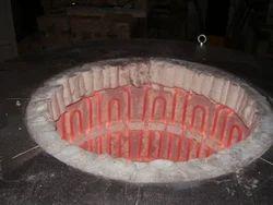 300 Kg / 500 Kg / 1 MT Aluminum Melting or Holding Furnace