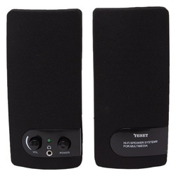 texet usb powered pc laptop speakers