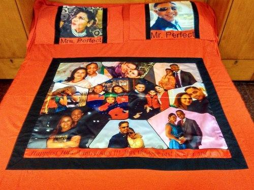 Personalised Quilts and bedsheets - Personalized Bedsheet ... : personalized quilts - Adamdwight.com