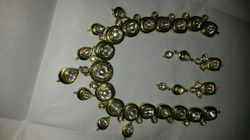 Fancy Kundan Meena Jewellery