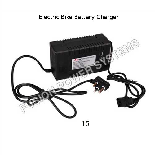 Electric Bike Battery Charger