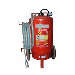 75 Kg Dry Powder Fire Extinguisher