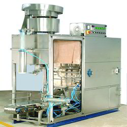 Automatic Jar Washing Filling and Capping Machine
