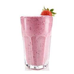 instant strawberry milk shake