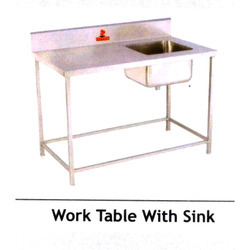 Work Table Sink
