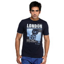 Mens Round Neck Printed T Shirts