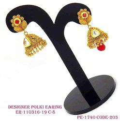 Polki Traditional Fancy Earring