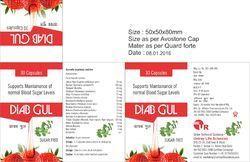 Herbal Antidiabetes Capsules