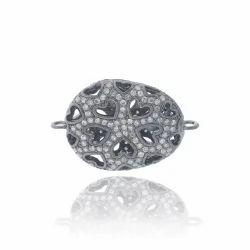 Diamond Filigree Beads Connector