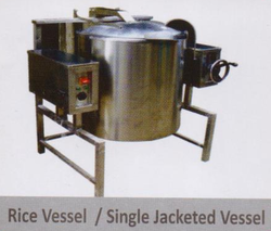 Single Jacketed Vessel