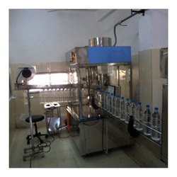 Double Head Jar Rinsing Filling Capping Machine