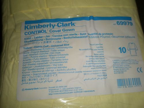 Cover Gown Kimberly Clark