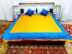 Patchwork Cotton Silk Razai