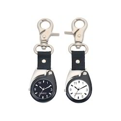 Keychain Watch with Magnifier