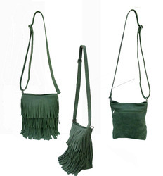 Leather Fringe Bag - Leather Fringe Sling Bag Manufacturer from ...