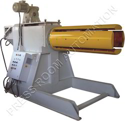 Motorized Decoiler 10 Tons with Hydraulic Jaw Expansion