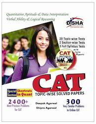 CAT Topic-Wise Solved Papers with Test
