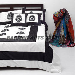 Bed Cover Silk Embroidery Samurai Boota