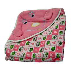 Infant Hooded Blanket