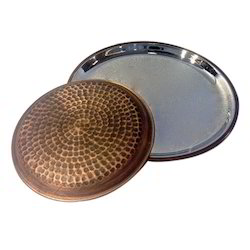 Smokey Finished Copper Hmrd Full & Quarter Plate