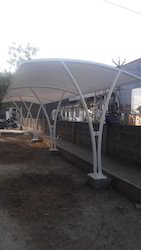 Two Wheeler Parking Tensile Structure