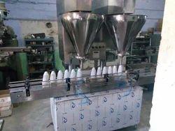 Double Head Augur Type Power Filling Machine