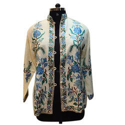 merino wool embroidery jacket