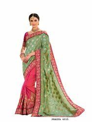 Half Half Ethnic Wear Sarees