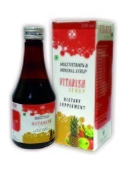multivitamin and mineral syrup