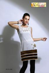 Trendy Style Designer Short Party Wear Tunic Kurti Top