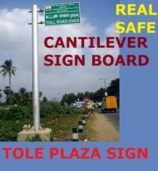 Cantilever Sign Board