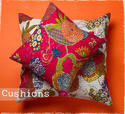 Printed Kantha Pillow Covers