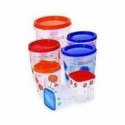 household plastic jars