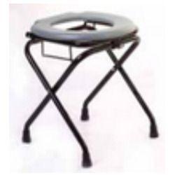Round Stool with Basket Premium