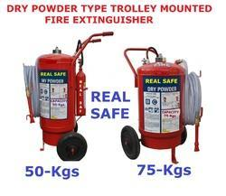 Dry Powder Type Trolley Mounted