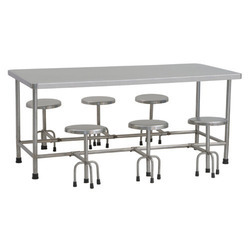 6 Seater Granite Top Dining Table