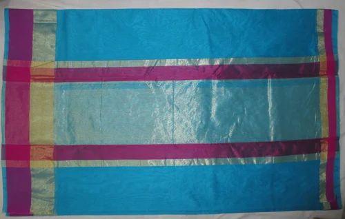 Mercerized Cotton Zari Saree