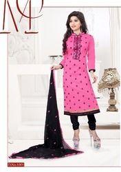 Pure Glace Cotton Salwar Suit