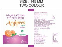 L Arginine Zinc with Folic Acid Granules