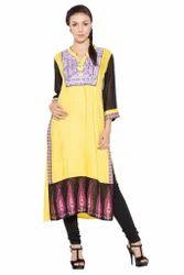 Pakistani Style Designer Printed Long kurta Salwar Suit