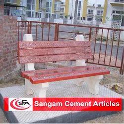 Terrazzo Concrete Bench